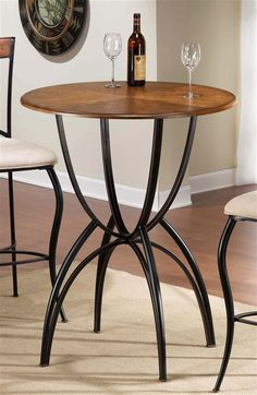 Hillsdale - Pacifico Bar Height Bistro Table