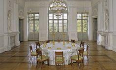 Saal in der Beletage von Schloss Favorite Ludwigsburg