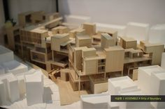 Hongik Univ. Dept. of Architecture 2016 Graduation Exhibition 2016 홍익대학교 건축공학부 건축학과 졸업전시회 Futuristic Architecture, Architecture Models, Architecture Design, Making A Model, Graduation Project, Model Pictures, Scale Models, City, Projects