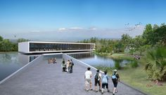 Agamon Hula Visitor Center / L2 Tsionov-Vitkon Architects