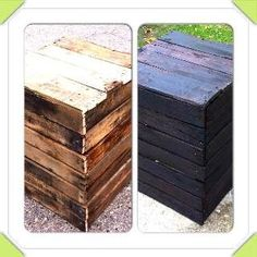 Detroit: Repurposed Pallets - Night Stands, End Tables, Coffee Tables and More - Rustic!  $40 - http://furnishlyst.com/listings/1163011