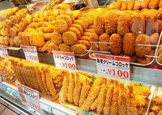 japanese korokke - delicious!!!  I would buy everything here ^~^