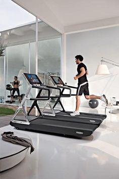 run personal treadmill  technogym  products i love