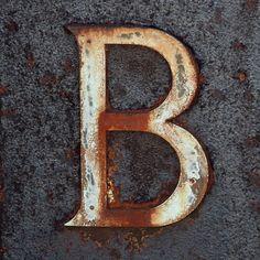 letter B by Leo Reynolds, via Flickr