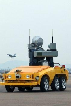 The World's First Bird Strike Defense Robot, Korean Atomic Energy Group, innovation, LIG future robot Futuristic Robot, Futuristic Technology, Technology Gadgets, Drones, Drone Quadcopter, Bird Strike, Mobile Robot, Industrial Robots, Industrial Design