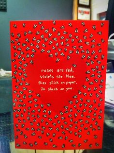 Funny Valentines Day card, 2014 DIY Valentines Day card, Cards for 2014 Lovers Day, 2014 valentine's day party ideas  www.loveitsomuch.com