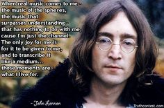 Jellynote - Sheet Music & Tabs for piano, guitar, alto sax, violin, drums and more! John Lennon Guitar, Love John Lennon, John Lennon Quotes, Leader Quotes, Wise Quotes, Qoutes, Bad Songs, Love Songs, Inspirational Leaders