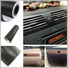 How to apply carbon fiber vinyl sheet for car interior trim photo editor cars and photos Blue carbon fiber wrap interior