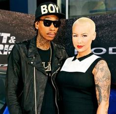 Amber Rose and Wiz Khalifa Family Pictures