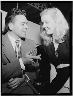 Portrait of Doris Day and Les Brown, Aquarium, New York, N.Y., ca. July 1946. Photograph by William P. Gottlieb. William P. Gottlieb Collection, Library of Congress Music Division.