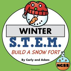 Winter STEM Activity Students love completing this winter themed STEM challenge! The students receive a letter from the STEM snowman stating that there is a snow ball fight contest. In order to win the students must build a fort for protection using only the materials provided.