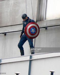 Captain America tournage