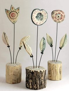 Newest Photo Ceramics projects unique Thoughts Фото Хроники – Shirley Vauvelle Mixed Media Artist Clay Projects, Clay Crafts, Arts And Crafts, Ceramics Projects, Photo Projects, Clay Flowers, Ceramic Flowers, Art Flowers, Ceramic Clay
