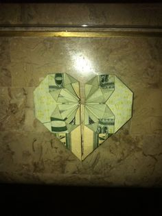 Fold a dollar note into a heart and keep it in your wallet or give it to a special friend as a keepsake to remember a fun outing spent together. A $20 bill can be used instead to make a cute gift for family and friends when you want to add...