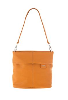 Frauentaschen :: MADEMOISELLE :: M8 | ZWEI Taschen Handtasche :: senf :: curry :: orange :: lederfrei