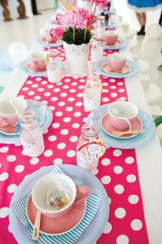 Alice in Wonderland Tea Party with a Vintage Twist
