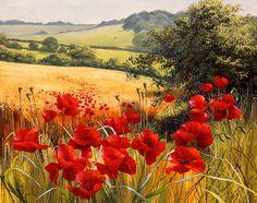 Olá amigos, Fiquei encantada com as belas paisagens pintadas pela artista Mary Dipnall. Algumas dessas paisagens me fizeram lembrar a...