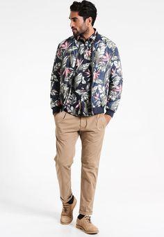 Lindbergh FLOWER PRINT - Camisa informal - navy 39r20j