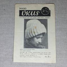 Návod na pletení - čepice č. 4