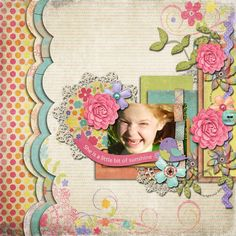 CREDITS: Kit: Danielle Engebretson's She's All That Template: Cluster Queen'sGimme Layers Stacked 'n Clustered Vol. Stacks, DigiShopTalk - The Hub of the Digital Scrapbooking Community Digital Scrapbooking Layouts, Altered Art, Sunshine, Kids Rugs, Templates, Kit, Create, Paper, Artist