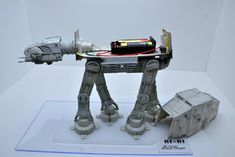 mpc Plastic Model Kit AT-AT Walker by arabin Plastic Model Kits, Plastic Models, At At Walker, Star Wars Design, Imperial Army, Model Building, Fun Time, Good Times, Military