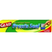 Glad Press´n Seal. This is the best invention ever!!!