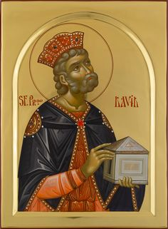 Jesus Christ Images, King David, Byzantine Icons, Old Testament, Orthodox Icons, Patron Saints, Kirchen, Ancient History, Fresco