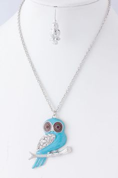 Sky Owl Necklace
