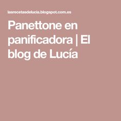 Panettone en panificadora   El blog de Lucía