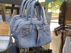 Jean Bags | The many uses of jeans. What does the rear look … | Flickr