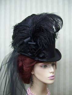 Ideas for our derby day fundraiser - Victorian Ladies Civil War Derby Lolita Neo Victorian by MsPurdy, $49.99