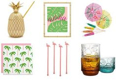 12 Tiki Essentials to Turn Your Bar Cart Into a Tropical Paradise