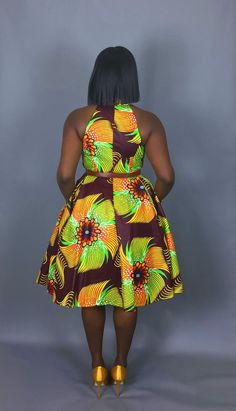 NOUVEAU dans: African clothing robes africaines impression