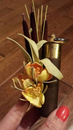 Mayda Duck Call Boutonniere