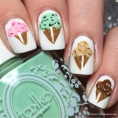 Ice Cream Nails - 25 Sweetpeas