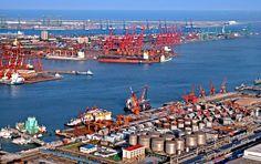 port of Tianjin 天津港