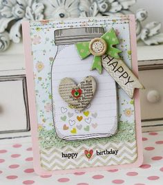 Dear Lizzy Mason Jar Stamp | is another favorite right now as it features the sweetest mason jars ...