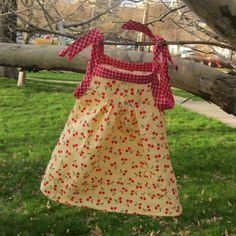 Summer is almost here! Which means dozens of baby showers:) Every little lady deserves a special dress!   With lots of pleats of course! And the ties make it super adjustable, so it can be worn all summer.