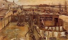 $128, Carpenter's Workshop Seen from the Artist's studio,  Artist: Van Gogh
