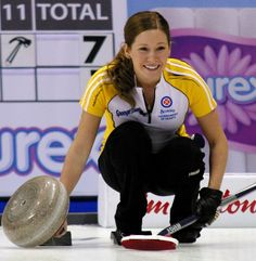 From the Scotties Jennifer Jone's vice, Kaitlyn Lawes. Such a great role model :)