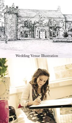 Wedding Story, Wedding Stationery, Wedding Venues, Drawings, Illustration, Collection, Design, Wedding Reception Venues, Sketches