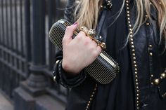 Alexander McQueen Clutch - absolutely in love with these. When I grow up I'm going to get one of these gangster babies.
