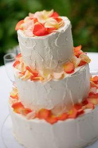 Easy way to make a cake beautiful.