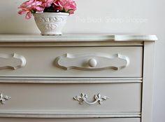 Vintage Sears Bonnet Dresser