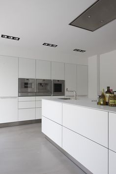White Kitchen Modern modern clean that sense of you have it all together.. lol at least