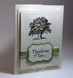 Stamping's my Passion!: Lovely as a Tree Sympathy Card