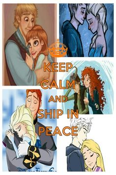 Keep clam and ship in peace
