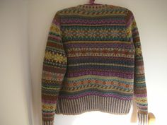 'Orkney' by Marie Wallin in felted tweed. Back view !