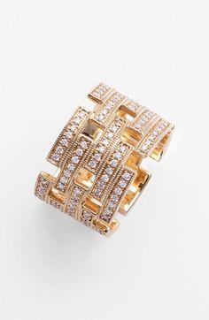 Dana Rebecca Designs 'Katie Z.' Diamond Cigar Band Ring available at #Nordstrom