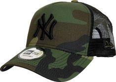 NY Yankees New Era Woodland Camo Clean Trucker Cap 771961a3f8c